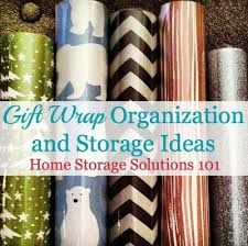 gift wrap storage ideas gift wrap organization ideas of fame