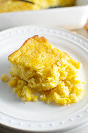 corn casserole for a thanksgiving side dish stuck on sweet