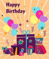 Birthday Card Ai Birthday Card Cover Background Eventful Style Giftboxes Icons Free