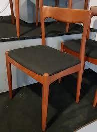 Esszimmerst Le Sch Er Wohnen Teak Stühle Von Arne Vodder Für Vamo Sonderborg 1960er 4er Set
