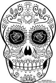 printable coloring pages sugar skulls free printable sugar skull coloring sheets sugar skulls sugaring