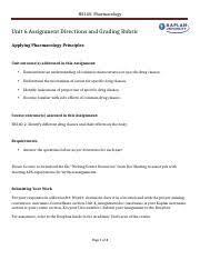 unit6 assignmt mod3 cassandra calloway hs140 pharmacology unit 6