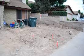 grading frank u0027s home remodeling project