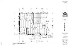 marvelous single story house plan 4 hoang residence sheet a201 2