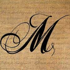 monogram initial letter p letter clip art by instantprintable