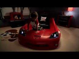 step2 corvette toddler to bed with lights unboxing my step2 corvette toddler to bed with lights