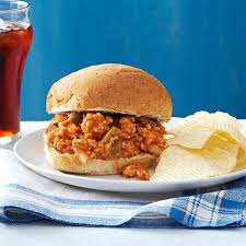 thanksgiving for a crowd turkey sloppy joes for a crowd recipe taste of home