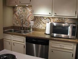kitchen sink backsplash ideas s major mosaic kitchen makeover curbly