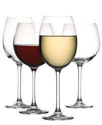 wine glasses the cellar glassware set of 8 premium white wine glasses