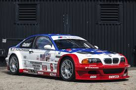 bmw car race 2001 bmw m3 gtr race car