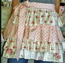 Shabby Chic Skirts by 84 Best Sweet U0026 Shabby Aprons Images On Pinterest Sewing Aprons