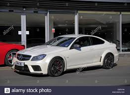 mercedes in manchester white mercedes c63 amg black car wilmslow manchester 05