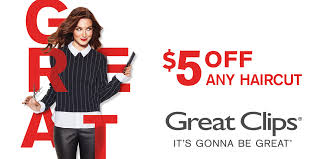 are haircuts still 7 99 at great clips hair cuts 5 off coupon at great clips thrifty nw mom