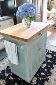 rolling kitchen cart makeover confessions of a serial do it
