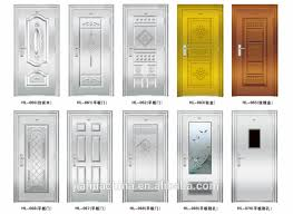 Steel Clad Exterior Doors Solid Exterior Doors Style Stainless Steel Grill