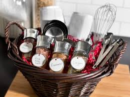 kitchen tea gift ideas gift baskets hgtv