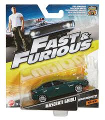 maserati back fast u0026 furious maserati ghibli diecast vehicle walmart canada