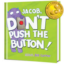 don t push the button personalized book put me in the story