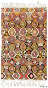 k0010578 multicolor vintage tavas kilim rug kilim rugs overdyed