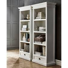 Single Bookcase Simple Living Holland White Bookcase Free Shipping Today