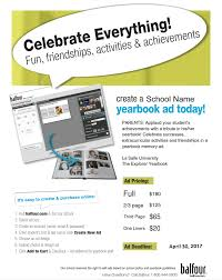 create a yearbook la salle explorer yearbook home