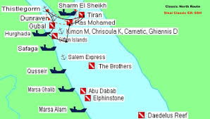 The Red Sea Map Diving In The Red Sea Oceano Explorer