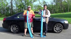 Car Roof Box Ebay by Inexpensive Pool Noodle Car Roof Rack Episode 178 Youtube