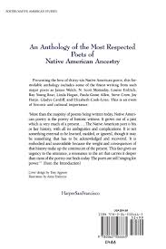 harper u0027s anthology of twentieth century native american poetry