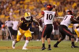 arizona state linebacker koron crump out vs oregon football