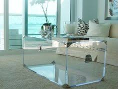 Square Acrylic Coffee Table Contemporary Square Acrylic Coffee Tables For The Home