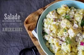 recette traditionnelle cuisine americaine salade de pomme de terre traditionnelle américaine le cuisine