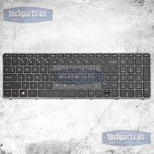 new oem hp pavilion 15 e 15 n series us laptop keyboard with frame