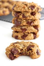 flourless oatmeal chocolate chip cookies bakermama