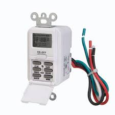 Defiant Timers Dimmers Switches U0026 by Westek Digital In Wall Timer White Tmdw10 The Home Depot