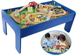 paw patrol adventure bay play table train sets with table hape railway play and stow storage and