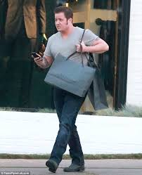 chaz bono hits the stores ahead of a new movie role in which he