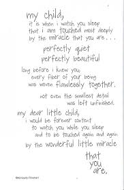 where should you put your newborn down to sleep poem