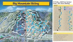 Mountain Map Tenney Mountain Skimap Org