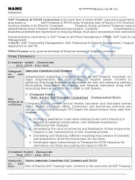 Sample Resume For Sap Mm Consultant by Sap Fico Support Resume Best Free Resume Collection