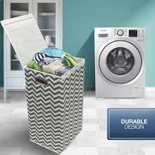 laundry sorters and hampers laundry hamper sorter with lid closure u2013 foldable hamper