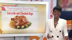 tsa yes you can bring your thanksgiving turkey onto a plane