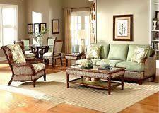 Wicker Indoor Sofa Sunroom Furniture Ebay