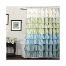 Large Shower Curtains Lush Decor Shower Curtains And More