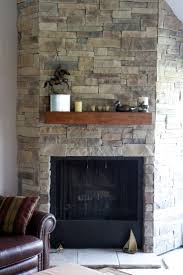 35 best ledge stone fireplaces images on pinterest fireplace ledge stone fireplace installed over drywall with a spruce beam wood mantel stained in shaker maple