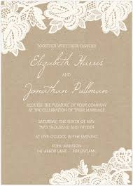 Design Patterns For Invitation Cards Custom Wedding Invitation Card With White Flowers Patterns And