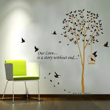 Birdcage Home Decor Our Love Is A Story Without End Tree Birds Birdcage Home Decor