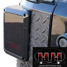 jeep jk led tail light bulb wrangler jk led tail lights midnight series smoke dot approved