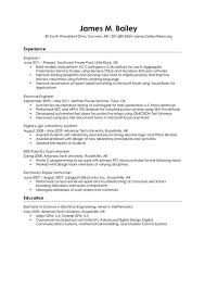 Systems Engineer Resume Examples by Audio Visual Engineer Resume Http Jobresumesample Com 1801