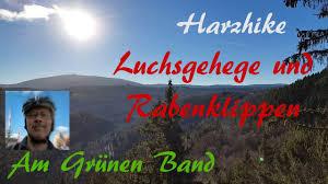 Luchsgehege Bad Harzburg Luchsgehege Und Rabenklippen Wanderung Am Grünen Band Youtube