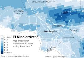 Los Angeles Area Map by